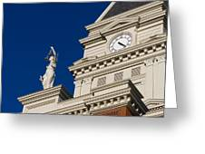 Clarksville Historic Courthouse Greeting Card