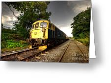 Class 33 At Bishop Auckland Greeting Card