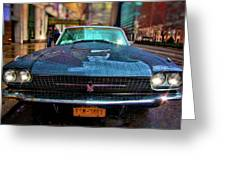 Classic 66 Tbird Greeting Card