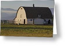 Classic Barn Near Grants Pass Greeting Card
