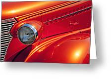 Classic Car Lines Greeting Card