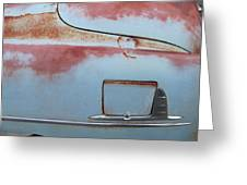 Classic Car Rust 6 Greeting Card