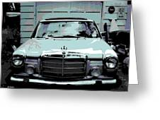 Classic Coupe Greeting Card