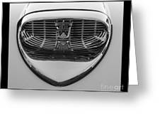 Classic Ford Thunderbird Hood Greeting Card