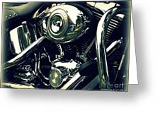 Classic Harley Greeting Card