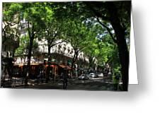 Classic Paris 3 Greeting Card