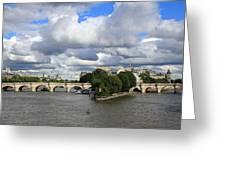 Classic Paris Greeting Card