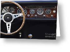 Classic Sunbeam Tiger Mk 1a - 1965  Greeting Card