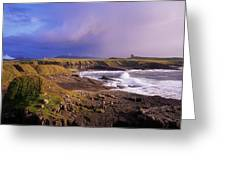 Classiebawn Castle, Mullaghmore, Co Greeting Card