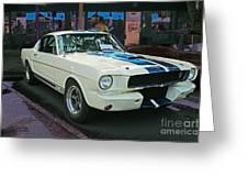 Classy Mustang Greeting Card