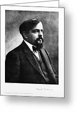 Claude Debussy, French Composer Greeting Card by Photo Researchers
