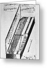Clavichord, 1636 Greeting Card