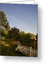 Clear Sky Rainbow Greeting Card