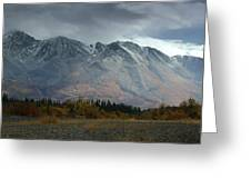 Clearing Storm Over North Canol Road Greeting Card