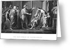 Cleombrotus II Greeting Card