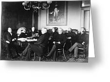 Cleveland Cabinet, 1889 Greeting Card