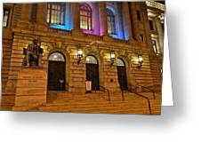 Cleveland Court House Greeting Card