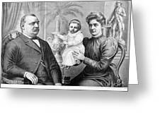 Cleveland Family, C1893 Greeting Card