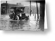 Cleveland: Flood, C1913 Greeting Card
