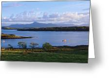 Clew Bay, Co Mayo, Ireland Greeting Card