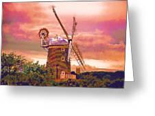Cley Windmill 2 Greeting Card