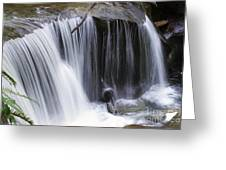Cliff Falls Greeting Card