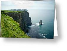 Cliff Of Moher 28 Greeting Card