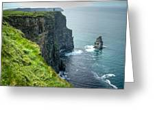 Cliff Of Moher 29 Greeting Card