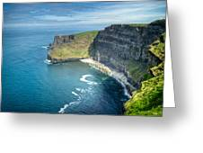 Cliff Of Moher 32 Greeting Card