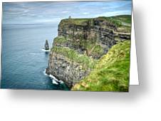 Cliff Of Moher 35 Greeting Card
