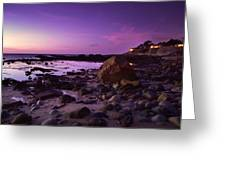 Cliff Side Dream Greeting Card