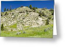 Cliff Side Panorama Greeting Card