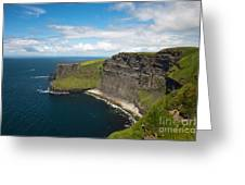 Cliffs Of Mohar Greeting Card