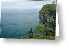 cliffs of Moher 36 Greeting Card