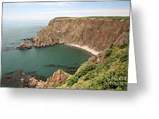 Cliffs On Grand Manan Island Greeting Card