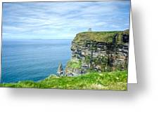 Cliffts Of Moher 1 Greeting Card