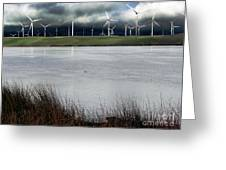 Climate Changed Storm Greeting Card