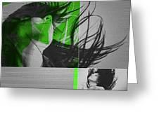 Climax Greeting Card by Naxart Studio