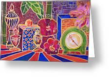 Clock Work 2 Greeting Card by Blenda Studio