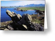 Clogherhead, Co Kerry, Dingle Greeting Card