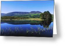 Clonee Loughs Co Kerry, Ireland Lake Greeting Card