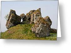 Clonmacnoise Castle Ruin - Ireland Greeting Card