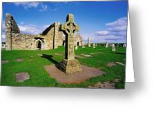 Clonmacnoise, Co Offaly, Ireland High Greeting Card
