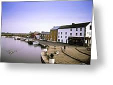 Cloondara, Co Longford, Ireland Town At Greeting Card