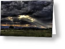 Cloud Break Greeting Card