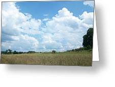 Cloud Filled Sky Greeting Card