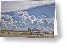 Cloud Merge Greeting Card