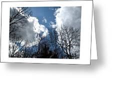 Cloud Panorama Greeting Card