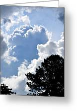 Cloud Power Greeting Card