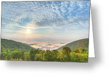 Cloud Sea Greeting Card